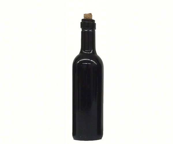 Bordeaux Wine Bottle Ornament