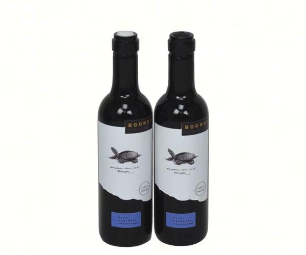 Bordeaux Bottle Salt & Pepper Shaker Set