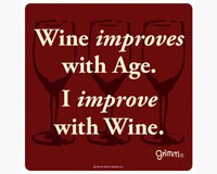 Wine Bottle Trivet-5.5 inches-GRIMMIMPROVEWBT