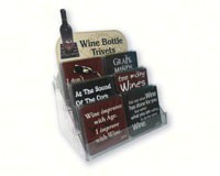 Wine Bottle Trivets Counter Display-GRIMMWBTDISPLAY