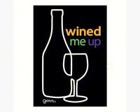 Magnet, Humorous Saying, Wined Me-GRIMMWINEDMAG