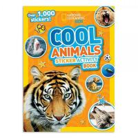 National Geographic Kids Cool  Animals Stickers Activity Book-HBG1426311130