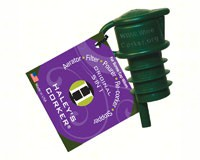 Haleys Corker 5 in 1 Wine Tool Original Screwcap Bulk Green Hang Tag 36 in display-HALEYOG36