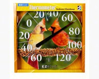 Cardinals Thermometer 12.5inch-HEAD8401211