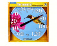 Hummingbird Thermometer 12.5inch-HEAD8401219