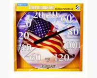 American Flag Thermometer 12.5 inch-HEAD8401221
