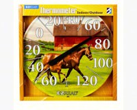 Horse & Foal Thermometer 12.5 inch-HEAD8401231