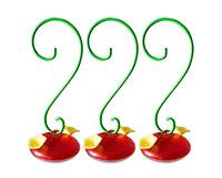 Garden Party Pods Hummingbird Feeder 3 pack-HEATH21712
