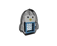 Penguin Suet/Seed Feeder-HEATH21802