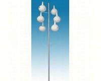 13.5 ft. Alum. PM Gourd Pole Kit 6 Piece Double Spiral Design-HEATH30106