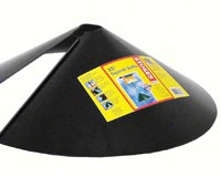 15 inch Squirrel Baffle-Black-HIATT38046