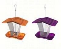 Sml Hopper Feeder 2 Purple / 2 Orange-HIATT50157