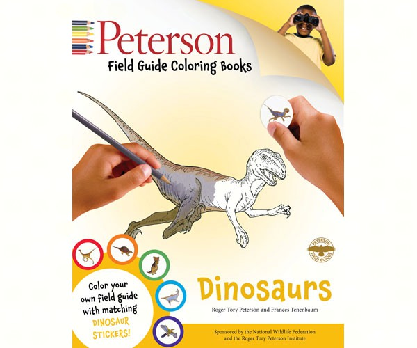 Peterson Dinosaurs Coloring Book by John Kricher
