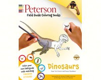 Peterson Dinosaurs Coloring Book by John Kricher-HM0544032552