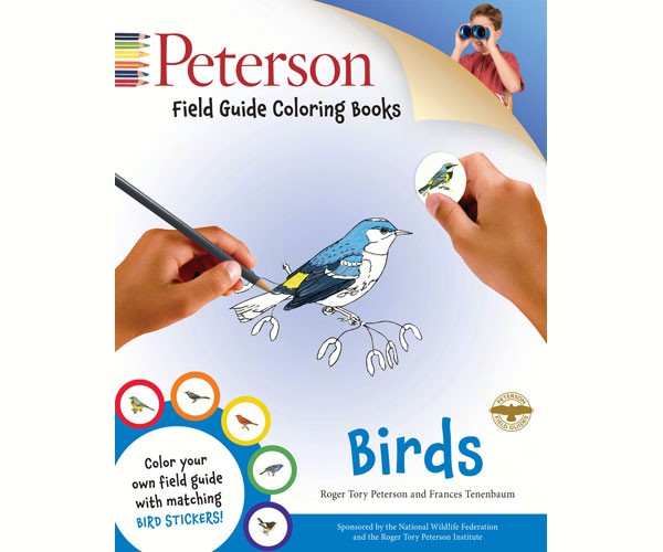 Peterson Field Guide Birds Coloring Book by Roger Tory Peterson