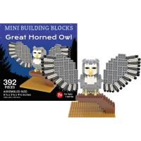 Great Horned Owl Mini Building Set-IMP47395