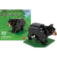 Black Bear Mini Building Block Set-IMP47469