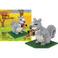 Gray Squirrel Mini Building Block Set-IMP92049