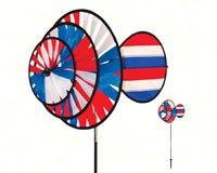 Small Patriotic Triple Wheel Spinner withSail-ITB2765