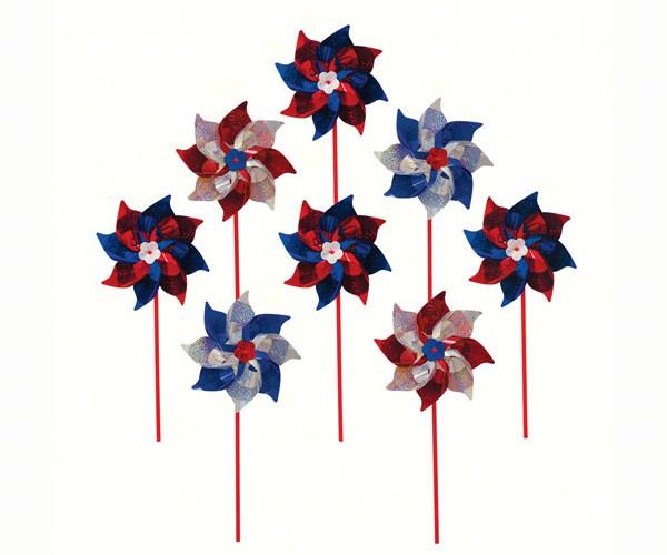 Patriot Pinwheel 8PC