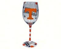 Wine Glass (12 oz) - Tennessee Volunteers-JENKINS12684