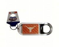 Lucite Logo Bottle Opener Keychain - Texas Longhorns-JENKINS23646