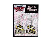 Earrings Clear Fill - LSU Tigers-JENKINS34404