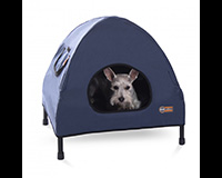Pet Cot House Small Navy Blue-KH1602