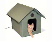 Outdoor Heated Kitty House-KH3993