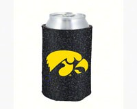 Glitter Can Coolie Iowa Hawkeyes-KO07788053