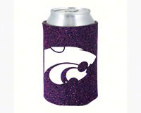 Glitter Can Coolie Kansas State Wildcats-KO077884058