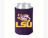 Glitter Can Coolie LSU Tigers-KO077886774