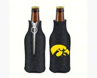 Glitter Bottle Coolie - Iowa Hawkeyes-KO07798053