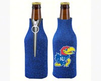 Glitter Bottle Coolie Kansas Jayhawks-KO07798054