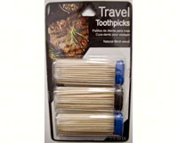 Travel Toothpicks (3 packs of 50)-LM00541