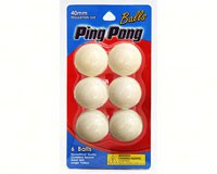Ping Pong Ball 6 Count-LM01461