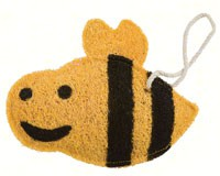 Bumble Bee Loofah Kitchen Scrubber-LOOF2004