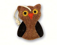 Owl Loofah Kitchen Scrubber-LOOF2302