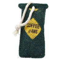 Bag of Coffee Beans Loofah Kitchen Scrubber-LOOFCT194
