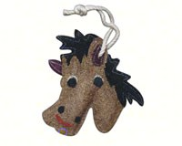 Horse Loofah Kitchen Scrubber-LOOFF128