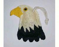Eagle Loofah Kitche Scrubber-LOOFLWBJ201