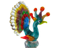 Glass Wbs Peacock-14209