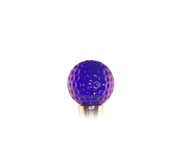 Glass Wbs Golf ball Blue
