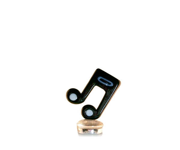 Glass Wbs Music Notes Black