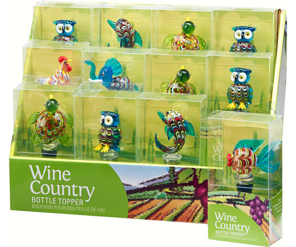 Bottle Stopper - Wine Country - Ven BS-1006