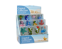 Coastal Collection 12 pc Bottle Stopper Display-BS-1010