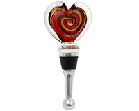 Bottle Stopper - Verona-Heart BS-154