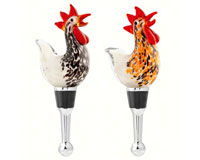 Bottle Stopper - Roosters BS-316