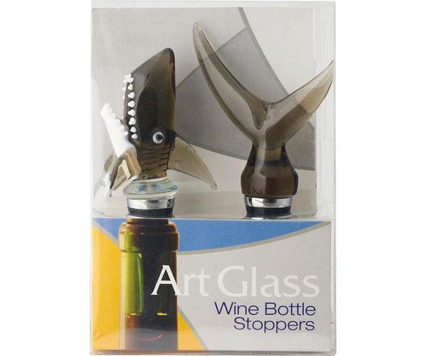Bottle Stopper - Shark Top & Bottom - S/2 - TBD BS-360