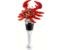 Bottle Stopper - Crab Red-BS-382